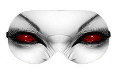 Vampire Female Halloween Sleep Sleeping Eye Night Mask Masks Blindfold Eyes cover shade wear Slumber Eyemask Sleepmask Eyewear Present Gift by venderstore on Etsy
