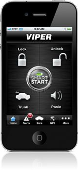 Control your car with your iPhone