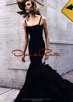 Karlie Kloss for Oscar de la Renta Ad Campaign Spring/Summer 2012