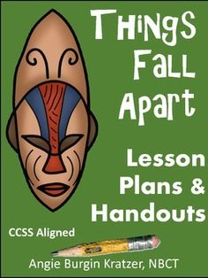 This product is part of Things Fall Apart Complete Unit {CCSS Aligned Education English, Teaching English, Great Expectations Book, Writing Assignments, Falling Apart, Teaching Tools, Lesson Plans, African Literature, How To Plan