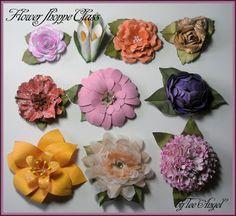 One Scrap at a Time: Cricut Flower Shoppe - Flowers