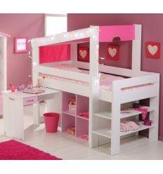 1000 images about lit combin pour enfant on pinterest lit mezzanine bureaus and mezzanine. Black Bedroom Furniture Sets. Home Design Ideas