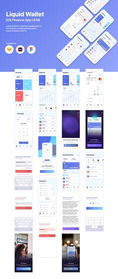 Wall Street, Blockchain, Mobile App Ui, Web Design Tutorials, Success, Ui Kit, Motivation, Saving Money, Finance