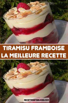 Light Desserts, No Cook Desserts, Italian Desserts, Easy Desserts, Mojito, Best Football Food, Raspberry Tiramisu, Tiramisu Fruits, Desserts With Biscuits