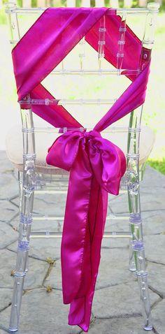 chair sash