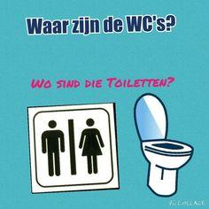 Hoe vraag je waar de WC is?