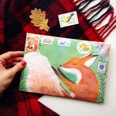 Snail Mail art - fox More