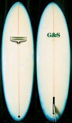 Gordon & Smith G Skip Frye Egg. late 70′s. #surfboard
