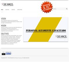 Empresa: Se Hace, S.A.  Role: Proveedor de recurso humano.  Web: www.empleosguate.com