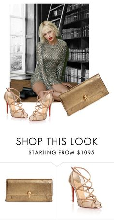"""""""Discrimination and emotional abuse ..... why? because I am Polish?  becuase I am a woman? WHY?"""" by awewa ❤ liked on Polyvore featuring Alexander McQueen and Christian Louboutin"""