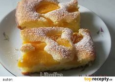 Bublanina s jogurtem recept - TopRecepty.cz Food Hacks, French Toast, Cheesecake, Food And Drink, Cooking Recipes, Muffin, Sweets, Baking, Fruit
