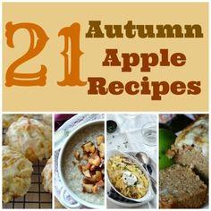 21 Autumn Apple Recipes