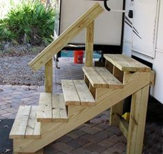 Best Diy Movable Stairs And Landing Small Google Search Ideas For Around House In 2019 Mobile 400 x 300