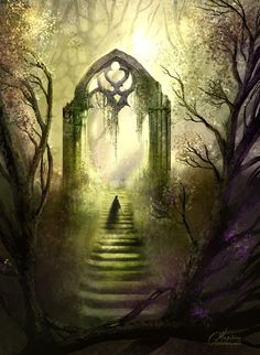 Portals to the Beyond~My Heart Like Ruins by maril1.deviantart.com on @DeviantArt