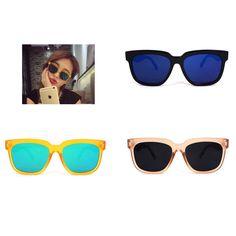 AYF Women's Sunglasses Square Fashion Glasses Vintage Retro Unisex Sunglasses #AYF #Square