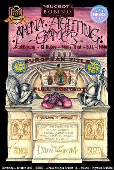 Arena Fighting Games - 4 ottobre Milano