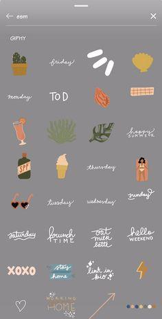 Instagram Emoji, Iphone Instagram, Instagram Frame, Instagram And Snapchat, Instagram Blog, Instagram Story Ideas, Instagram Quotes, Organizar Instagram, Instagram Editing Apps