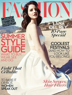 Lana Del Rey Turns Up the Glam for Fashion Magazines Summer 2013 Cover Shoot - Fashion Gone Rogue: The Latest in Editorials and Campaigns