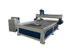 4 axis cnc router with rotary fixed into working table