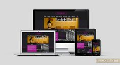 Au Coeur de Bordeaux - Web Design responsive - présentation du site internet sur les différents supports Design Responsive, Presentation, Bordeaux, Site Internet, Web Design, Touch, Design Web, Bordeaux Wine, Website Designs
