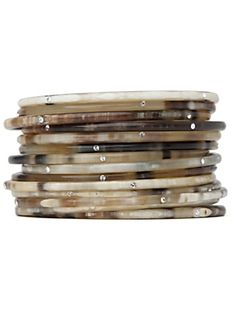 natural horn bangles