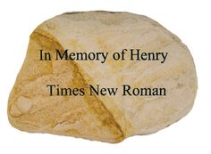 Custom Engraved Memorial Marker - Create Your Own Sympathy Stone