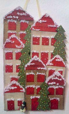 Christmas village Christmas Ideas, Christmas Tree, Tree Skirts, Spirit, Holiday Decor, Creative, Home Decor, Teal Christmas Tree, Decoration Home