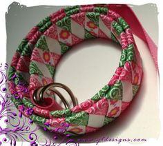 Woven ribbon belt