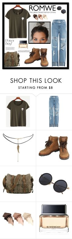 """Romwe Style 👽"" by pattimayoisversatile on Polyvore featuring SJYP, ASOS, Chanel, Urban Decay and Givenchy"