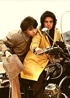 Bud Cort and Ruth Gordon (Harold and Maud)