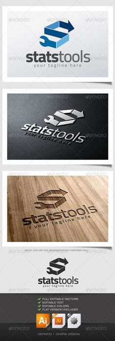 Stats Tools Logo (Letters)