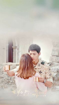 When she decided to let it all go and just be with him - Descendents of the Sun