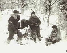 Finnish mobile artillery control, Winter War - pin by Paolo Marzioli