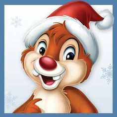 Christmas - Disney - Chip & Dale