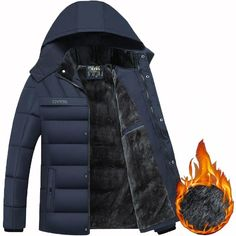 06504300d 12 Best Hooded Men Winter Jackets images