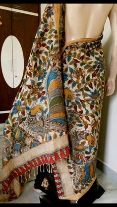 Kalamkari Saree! How Pretty?