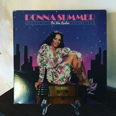 Now Spinning! #donnasummer #dimallthelights #hotstuff #lovetoloveyoubaby #disco www.johnpauldehaas.com