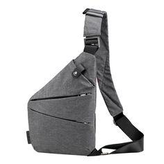 Crossbody Anti Theft Chest Bag - Imoost Canvas Shoulder Bag 9f14d517506c7
