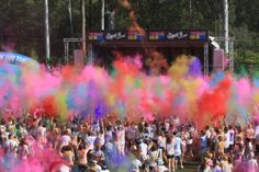 Time and Motion sequence - Colour Run - 2014 - Queensland