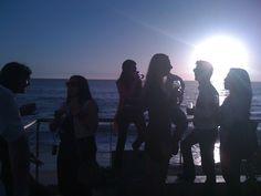Sunset parties at Clifton