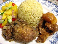 Nasi Minyak, a speical mixed herbs rice from Jambi