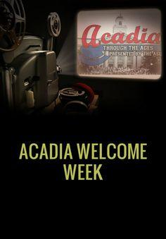 Welcome Week @ Acadia University