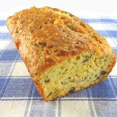 Uma mordida perfeita: Savory Queijo e Pão Cebolinha