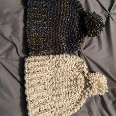 Crochet Hat Pattern Womens Hat Mens Hat How To Crochet | Etsy Crochet Santa Hat, Chunky Crochet Hat, Crochet Beret, Chunky Knitting Patterns, Easy Crochet Patterns, Knit Or Crochet, Knitted Hats, Gnome Hat, Elf Hat
