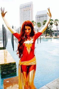 Jean Grey - phoenix {X Men} cosplay ❤️