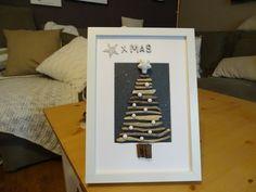 Weihnachtsbaum aus Treibholzästen Magazine Rack, Etsy, Frame, Vintage, Home Decor, Christmas Tree, Craft Gifts, Timber Wood, Picture Frame