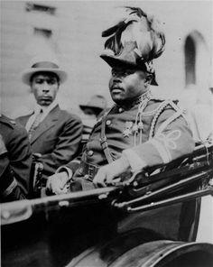The Honourable Marcus Mosiah Garvey - Founder of the U.N.I.A.