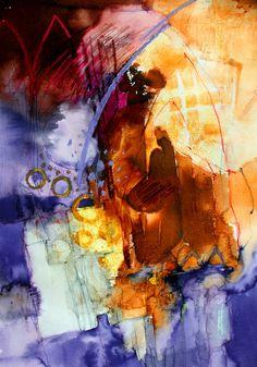 Sarlat - Watercolour & Mixed Media 59 x 42 cm Shirley Trevana Watercolor Art Paintings, Watercolor Landscape, Flower Paintings, Watercolours, Painting Of Girl, Spring Painting, Abstract Oil, Abstract Watercolor, Watercolor Flowers