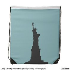 Enjoy a new drawstring bag from Zazzle. Use it to hold your gym gear or carry snacks & water for a hike. Gym Gear, Drawstring Backpack, Liberty, Backpacks, Lady, Freedom, Political Freedom, Backpack, Backpacking