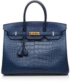 Classy Handbag Heritage Auctions Special Collection Blue De Malte Matte Alligator  A Little Pricey at $85,000